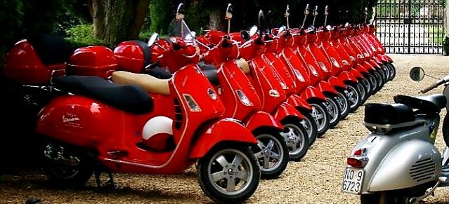Vespa a sărbătorit cea de-a 75-a aniversare și a vândut peste 19 milioane de scutere
