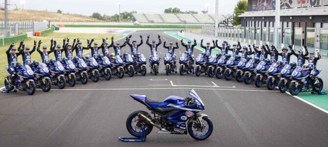 Începe cupa Yamaha R3 bLU cRU 2021