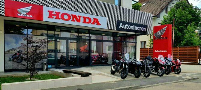 Autosincron, dealer autorizat Honda, a deschis un nou magazin moto în Cluj-Napoca
