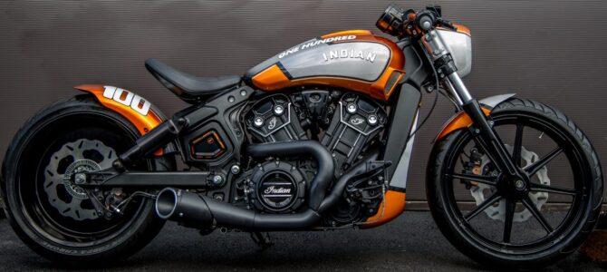 Hundred, motocicleta construită de Indian Motorcycle Metz
