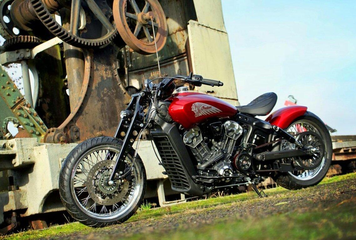 Indian Motorcycle Metz Red Wings