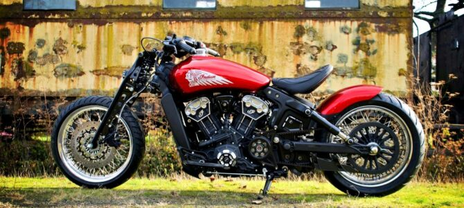 Red Wings, model construit de Indian Motorcycle Metz