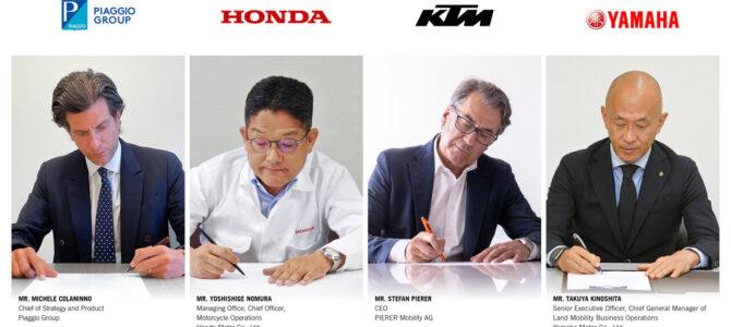 SBMC – Grupul Piaggio, Honda, KTM și Yamaha pun bazele standardizării bateriilor