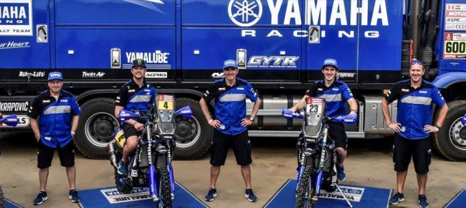 Echipa oficială Yamaha la Dakar 2018
