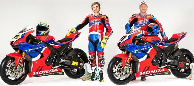 Honda a prezentat echipa oficială și motocicletele pentru WSBK 2020