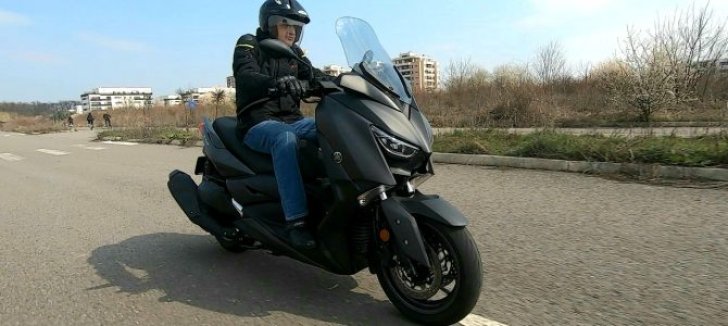 Yamaha XMAX 400 – test și prezentare – varianta video