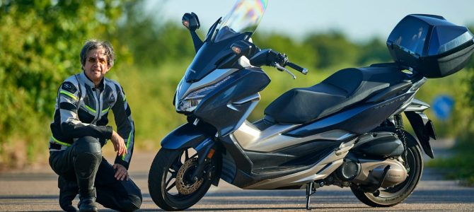 Honda Forza 300 – test şi prezentare – varianta video