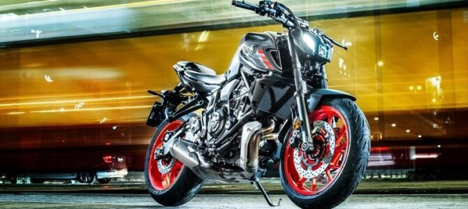 Yamaha MT-07 generația 2021