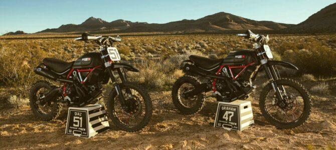 Ducati a lansat ediția limitată Scrambler Desert Sled Fasthouse