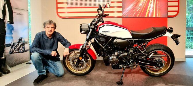 XSR 700 din familia Yamaha Sport Heritage