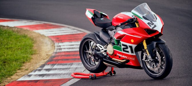 Panigale V2 Bayliss 1st Championship 20th Anniversary, ultimul model lansat de Ducati