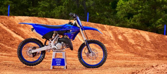 Noul model Yamaha YZ125, generaţia 2022