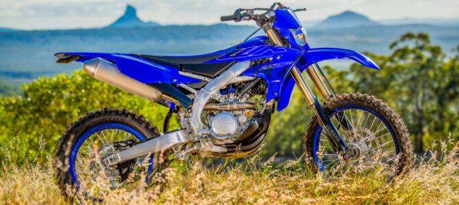 Noul model enduro Yamaha WR250F 2022