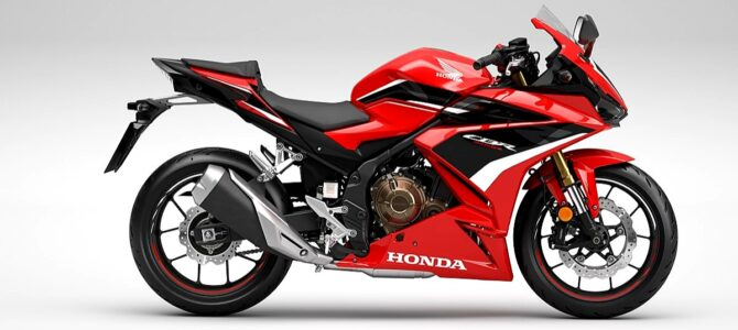 Honda CBR500R și îmbunătățirile aduse pentru 2022