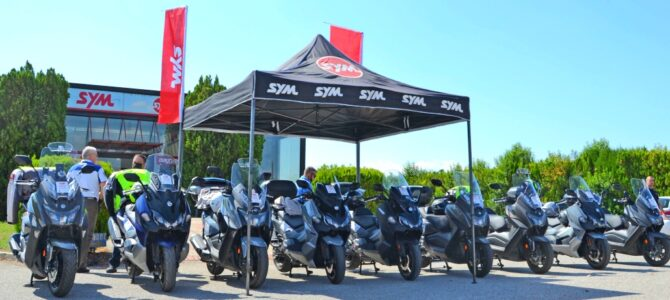 Caravana SYM Balkan Ride Tour 2021 a trecut prin România