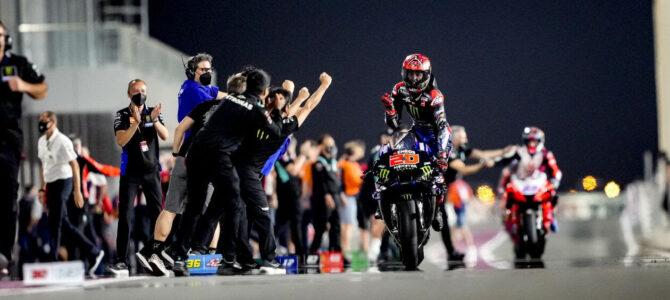 Fabio Quartararo a readus echipei Yamaha victoria în MotoGP